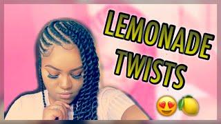 DIY Lemonade Twists 🍋😱 | Feed In Twists by Flawless Britny