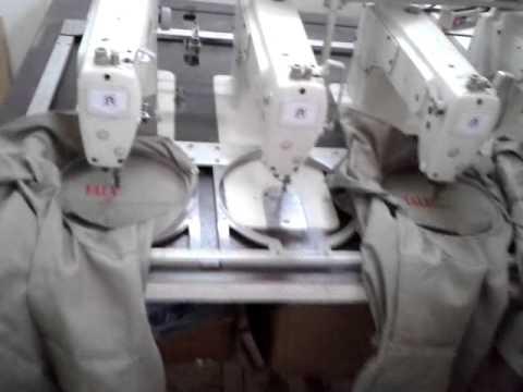 m�quina de bordar 4 cabezas