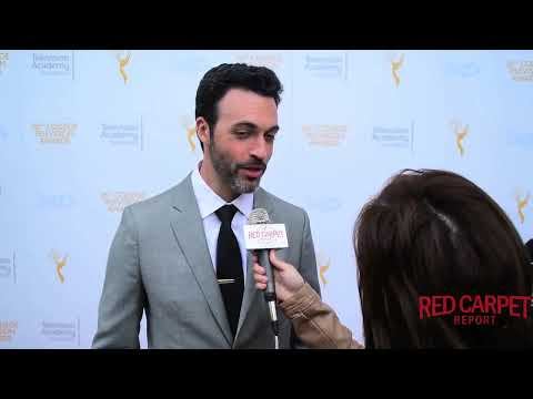 Interview with Reid Scott #Veep at 36th College Television Awards #CollegeTVAwards #EmmysFoundation