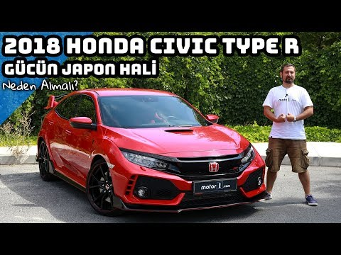 2018 Honda Civic Type R  Gücün Japon Hali  Neden Almalı ? English Subtitled