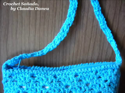 Cute crocheted handbags- Carteras crochet con encanto (I)
