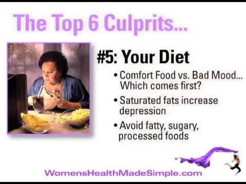 Are You Sad, Tired & Getting Fat? Here Are The Top 6 Culprits