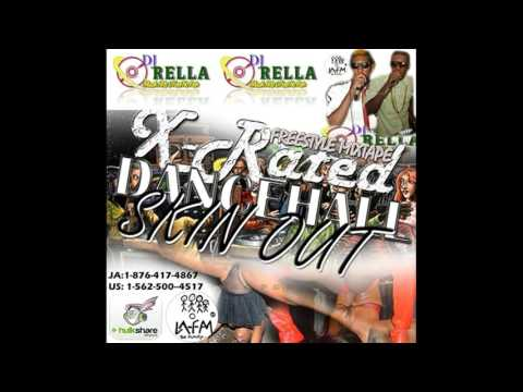Dj Rella X-Rated Dancehall Skin Out Mixtape 2013 thumbnail
