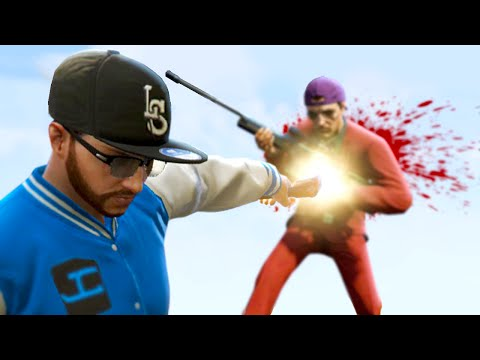 GTA 5 Funny Moments - KILLING SLOGOMAN! (GTA 5 Funny Moments)