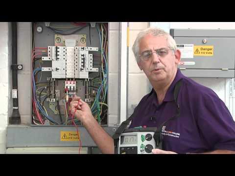 External earth loop impedance (Ze) test