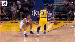 Zach Norvell Jr. NASTY Crossover On Jordan Poole AGAIN! | October 18, 2019 NBA Preseason