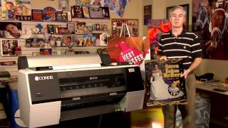 The Epson 7890 and 9890 Wide Format Printers