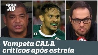 Joga FEIO? Vampeta CALA críticos do Palmeiras após estreia na Libertadores!