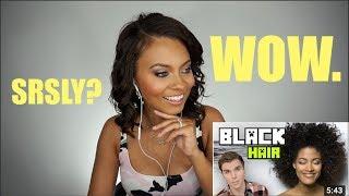 ONISION BLACK HAIR SERIES? HAIRDRESSER REACTS! | Brittney Gray