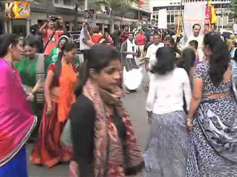 The Hare Krishna Community Marks Its Annual Chariot Festival In Nairobi