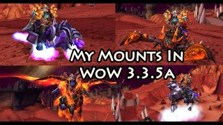 Wow 3.3.5a - All 200 of My Shiny Converted Mounts XD