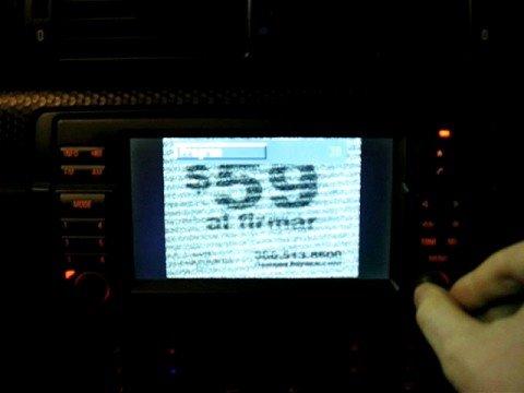 BMW E46 2004 330ci Nav TV Demo