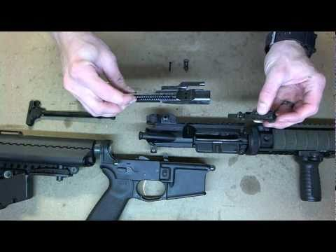How to Assemble a Field Stripped AR-15 in HD