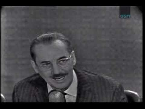 Groucho Marx What's My Line?