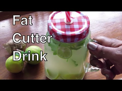 Fat Cutter Drink - How To Lose Weight Fast With Ginger And Lemon - Fat Burning Detox Tea