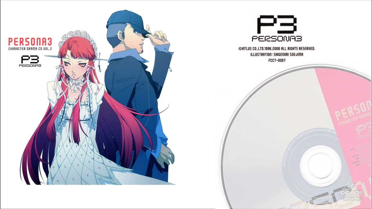 Persona 3 Characters Persona 3 Character Drama cd