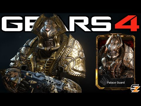 "Gears of War 4 - ""Palace Guard"" Character Multiplayer Gameplay!"