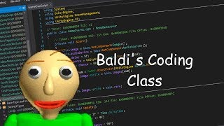 How to mod Baldi's Basics!