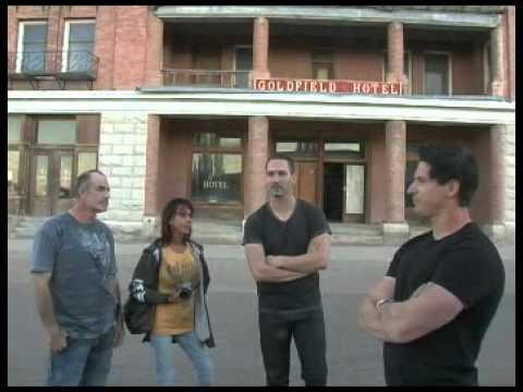 aarons vlog Goldfield hotel