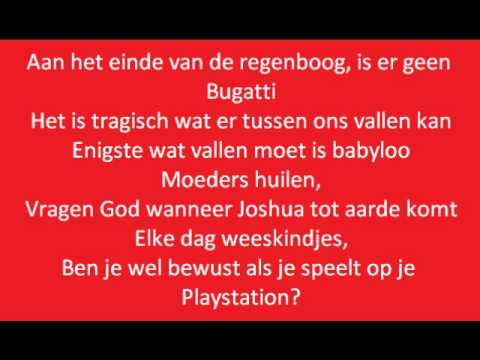 Baby ft. Kempi - Eind van de regenboog (lyrics on screen)