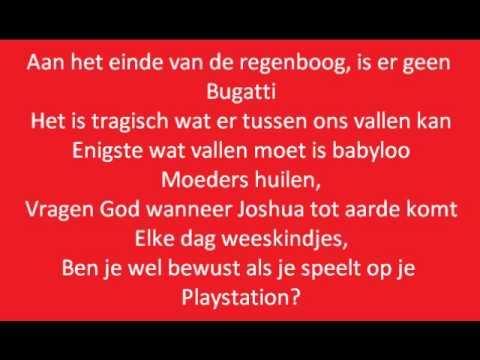 Baby ft. Kempi - Eind van de regenboog (lyrics on screen)