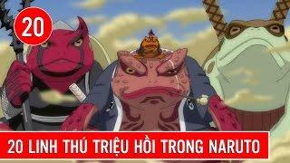 20 linh thú triệu hồi trong Naruto Shippuden : Summoning Jutsu - Shounen Action