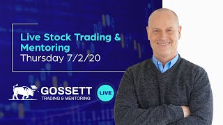 Live Stock Trading & Mentoring - Thursday 7/2/20 - During the last hour of the US Stock Market