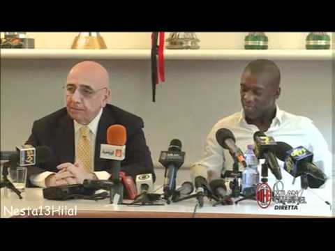 Conferenza Stampa Di Clarence Seedorf Part 2 21-6-2012
