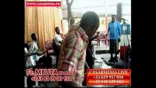 Fr.MBUTA KAMOKA en repetition à kinshasa avant concert (www.casarhema.fr)