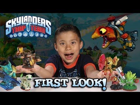 Skylanders TRAP TEAM - Special FIRST LOOK - Figures & Extended Gameplay / Skylanders 4