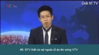 Những sự cố bất ngờ của MC trên sóng truyền hình VTV