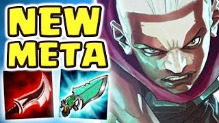 THE LEGENDARY FORBIDDEN TECHNIQUE | NEW META STORMRAIDER'S EKKO JUNGLE | CRAZY BUILD - Nightblue3