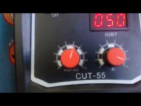 Máquina de Corte Plasma CUT-55 Chapa até 12mm Monofásica 220V Com Display Digital