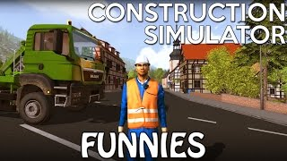 Crazy Moments in Construction Sim! (Livestream Highlights)