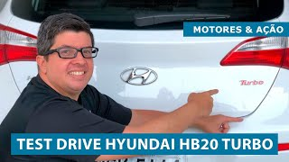 Test Drive Hyundai HB20 Turbo 2018 | Review | motoreseacao