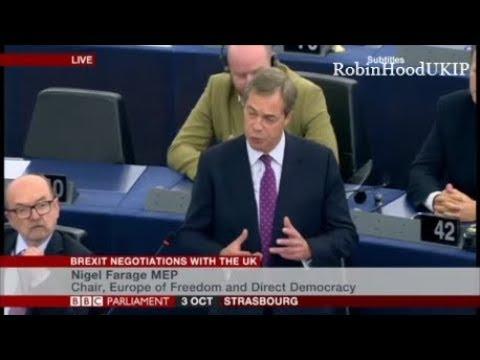 Nigel Farage says Catalonia referendum shows how the EU treat voters