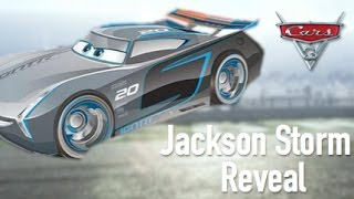 Cars 3 Official Jackson Storm Reveal - Speculation