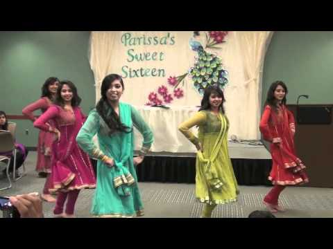 Chamak Challo and Marjaani Dance Medley at Parissas Sweet Sixteen
