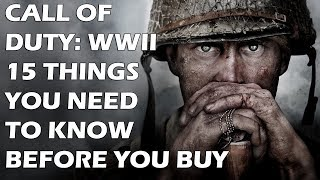 15 Things You NEED To Know Before You Buy Call of Duty: WW2