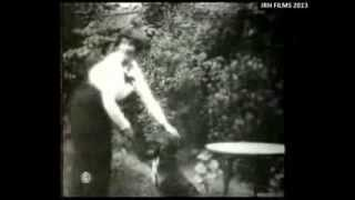 Colette (1873-1954) - Filmed at Home with her Cats and Dog