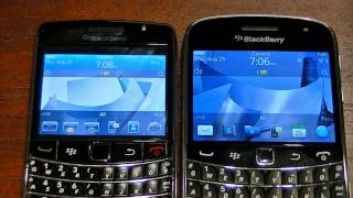 BlackBerry 9700 vs 9900 - Part 1 of 2