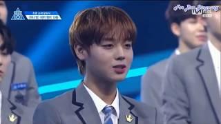 [ENGSUB] Bae Jinyoung (배진영) 10th Place speech - Produce 101 (프로듀스101)