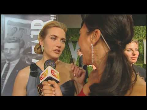 Kate Winslet wins her Oscar