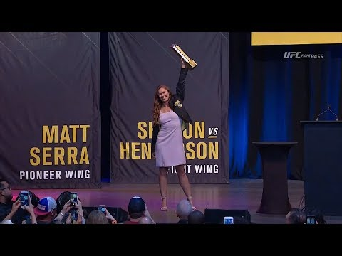 2018 UFC Hall of Fame Induction Ceremony Highlights