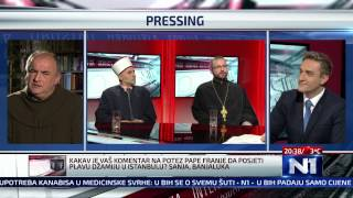 N1 Pressing: Hafiz Bugari, fra Majandzic i protojerej Djogo (24.12.2014.)