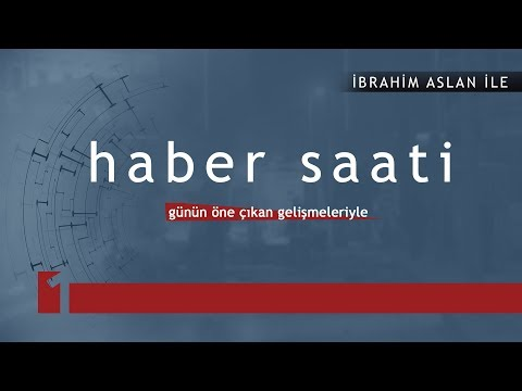 Haber Saati - 24/08/2017