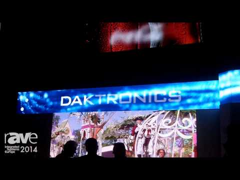 ISE 2014: Daktronics Shares a Daktronics Moment of Exclusivity