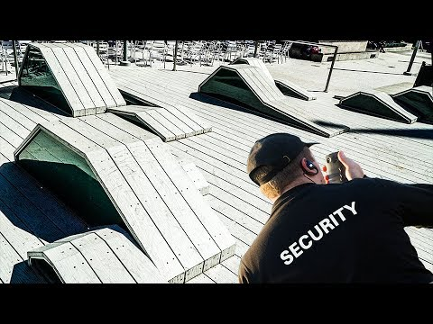 EXTREMELY ILLEGAL SECRET SKATE SPOT!!!