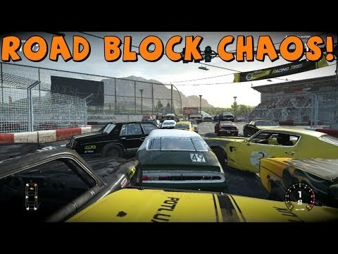 Next Car Game | Figure 8 Roadblock Challenge