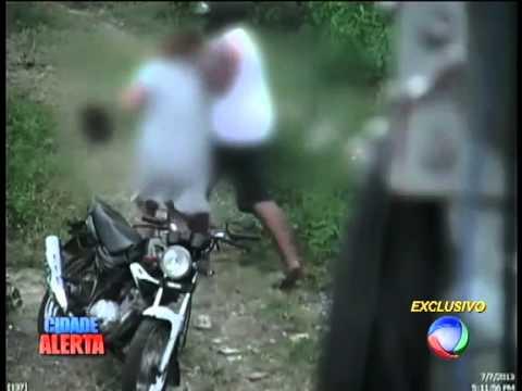 Em Recife: Mulher de 50 anos é estuprada por mototaxista; câmeras registraram o ataque!